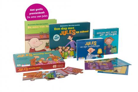 Boeken- en spelletjespakket bij Themamap 1 - met gratis prentenboek