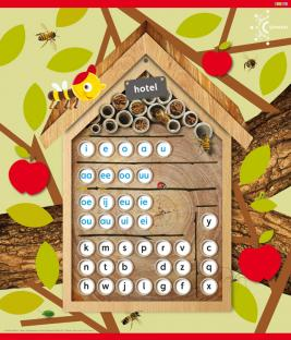 Bijenhuis (letterposter): overkoepelend