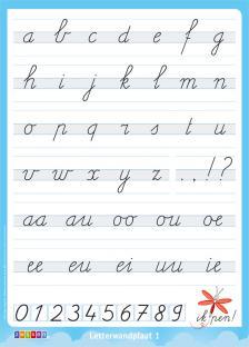 Letterwandplaat 1