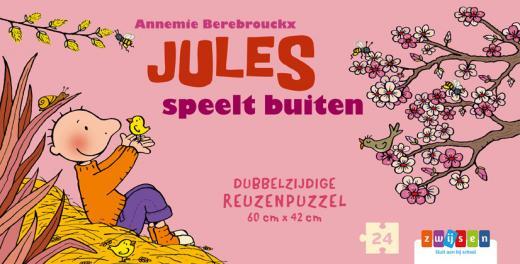 Jules speelt buiten - Reuzenpuzzel