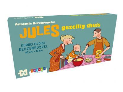 Jules gezellig thuis - Reuzenpuzzel
