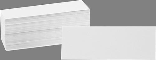 Kartonnen naamkaartjes, per 80
