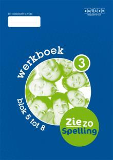Werkboek 3 blok 5 tot 8