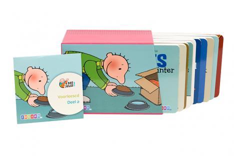 Kartonboekjes reeks 2 (10 verhalen + voorlees-cd)